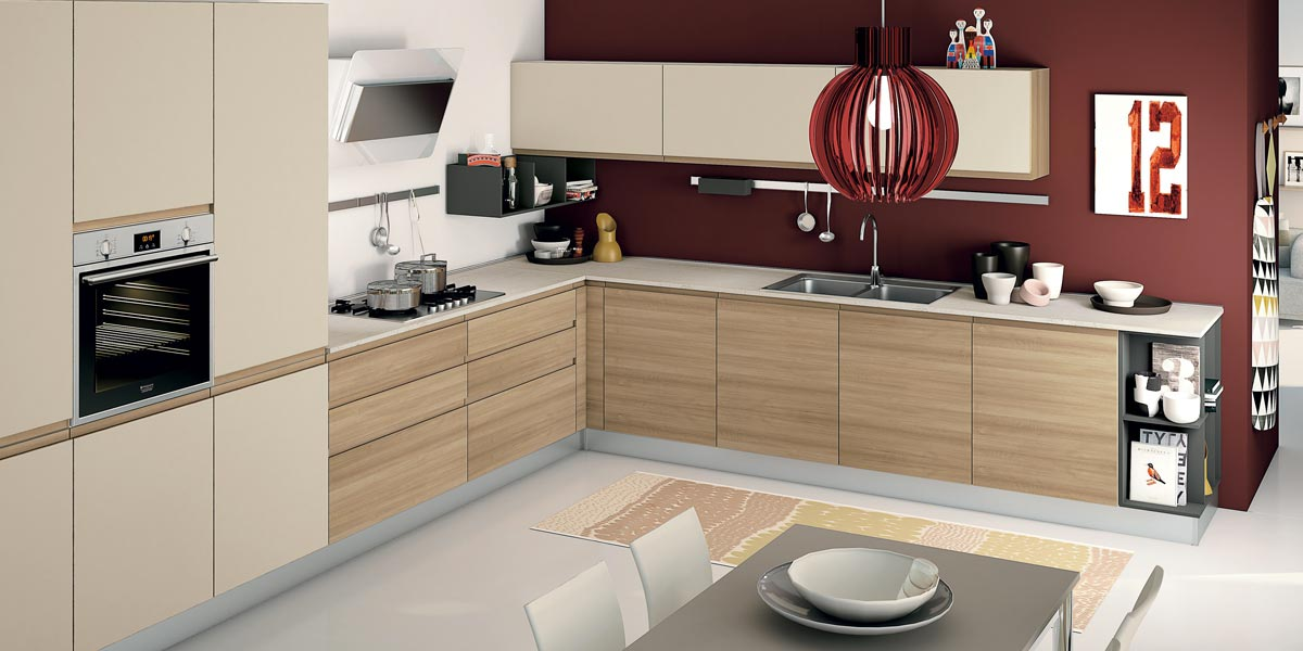 Beautiful Cucina Lube Alessia Pictures - Home Interior Ideas ...